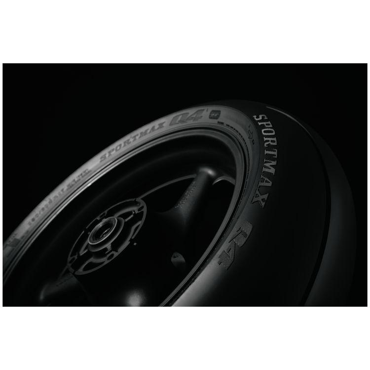 73W Dunlop Sportmax Q4 Rear Motorcycle Tire 180//55ZR-17 for Yamaha YZF-R6 1999-2018